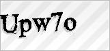 CAPTCHA security code